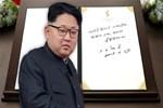 Kim Jong-un Güney Kore'de deftere bu notu düştü