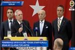 Fenerbahçe başkan adayları Ali Koç ve Aziz Yıldırım bir araya geldi