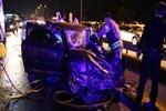 Tuzla'da gece yarısı korkunç kaza!