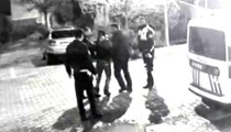 Hastanede polis dayağı