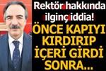 Selefinden Rektör Mazhar Bağlı hakkında suç duyurusu!