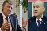 MHP lideri Bahçeli'den Abdullah Gül açıklaması