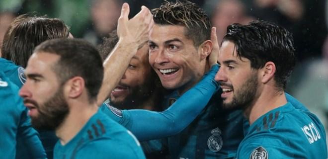 Real Madrid, İtalya'da avantajı kaptı!