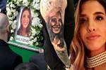 Uçak kazasında ölen nişanlısını koluna kazıttı