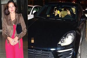 Zehra Çilingiroğlu trafikte zor anlar yaşadı