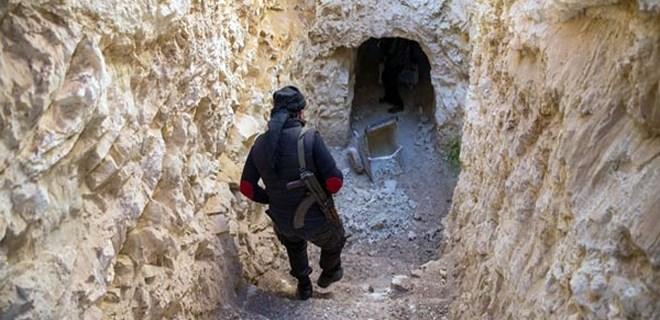 Teröristlerin tünel oyunu!..