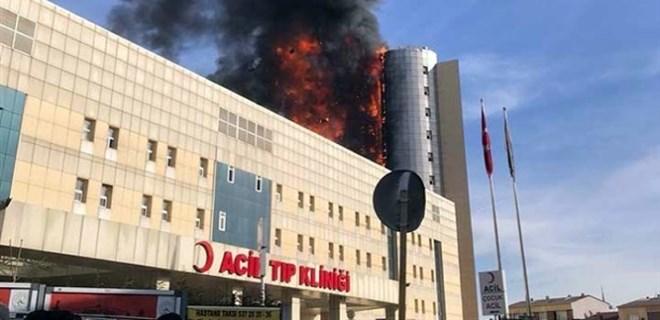 Taksim İlkyardım Hastanesi'ndeki yangın ile ilgili soruşturma başlatıldı!