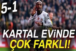 Beşiktaş:5 - Göztepe:1