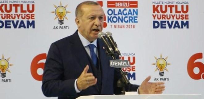 Cumhurbaşkanı Erdoğan sert konuştu