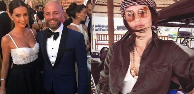 Yasemin Özilhan'dan eşine 'kıyafet' desteği