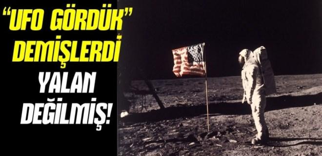 NASA'nın ay yolcuları yalan testinden geçti!