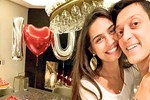 Mesut Özil'den sevgilisi Amine'ye romantik sürpriz!