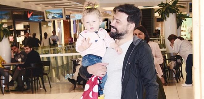 Bülent Emrah Parlak sevimli kızıyla görüntülendi