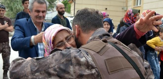 Afrin'de destan yazan PÖH'ler Eskişehir'e döndü
