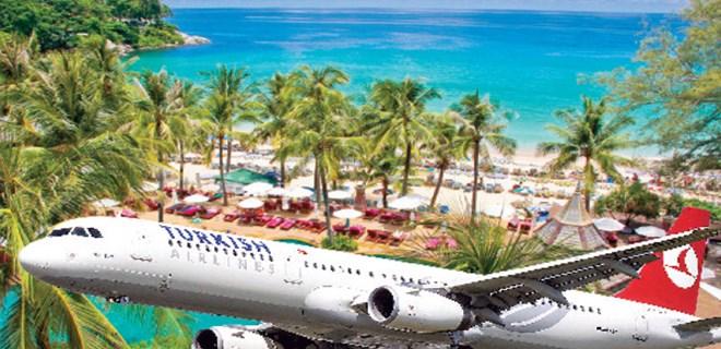 THY dünyayı Phuket'e uçuruyor