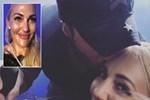 Enrique Iglesias'dan Meryem Uzerli'ye öpücük