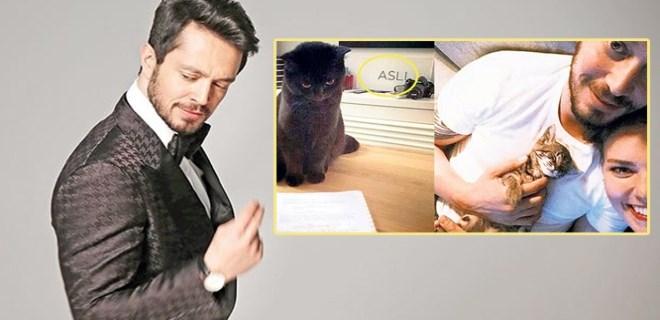Murat Boz ve Aslı Enver arasında kedi krizi!