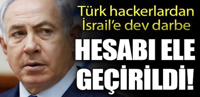 Türk hackerlardan İsrail'e dev darbe!