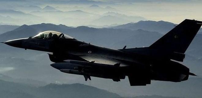 Afrin'de hava harekatı!.. 7 terörist etkisiz hale getirildi!