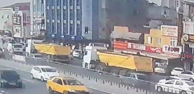 Katil kamyona 4 km vicdan takibi