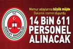 Adalet Bakanlığı 14 bin 611 personel alacak!..