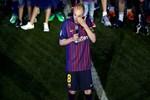 Andres Iniesta, Camp Nou'ya veda etmekte zorlandı