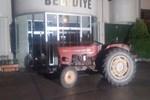 Alkollü muhtardan traktörlü tepki