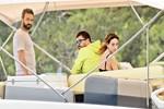 Seda Bakan eşiyle tekne tatilinde