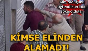 Kendisine karşılık veren oğlunu evire çevire dövdü