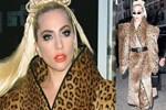Lady Gaga 27 derece sıcakta palto giydi!