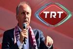 TRT'nin açıklamasına Muharrem İnce'den sert yanıt!