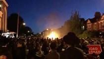 Londra'da büyük bir patlama meydana geldi!