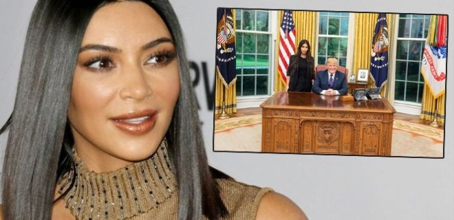 Kim Kardashian Trump'tan 'af' istedi