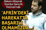 Bakan Albayrak, İstanbul Gençlik Festivali'nde konuştu