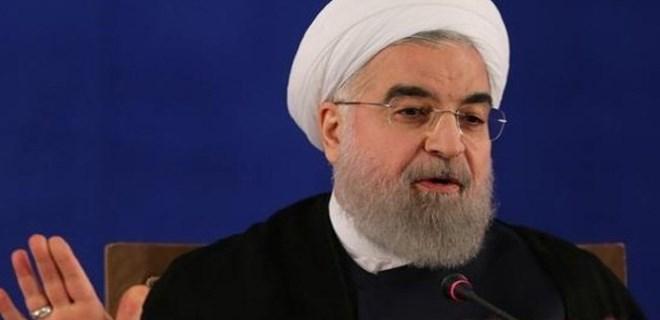Hasan Ruhani'den tehdit gibi açıklama