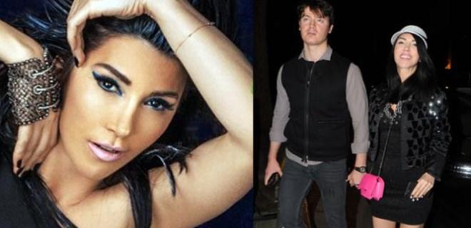 Hande Yener ve nişanlısı el ele görüntülendi