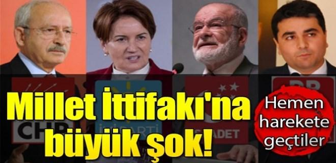 'Millet İttifakı'na itiraz edildi!..