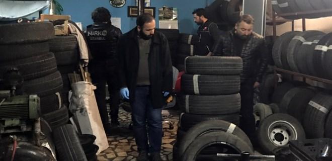 İstanbul'da uyuşturucu operasyonu!..