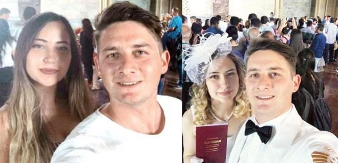 Anıtkabir'de selfie çekerken tanışan çift evlendi