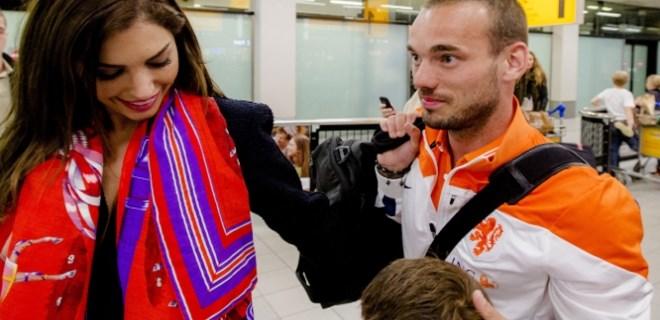 Wesley Sneijder'den flaş karar!