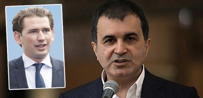 AB Bakanı Ömer Çelik'ten Avusturya'ya sert tepki!