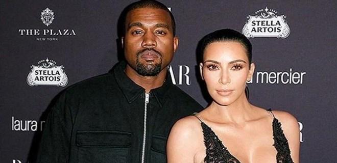 Kim Kardashian'dan eşi Kanye West'e sürpriz parti