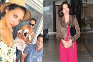 Zehra'dan aile Selfie'si