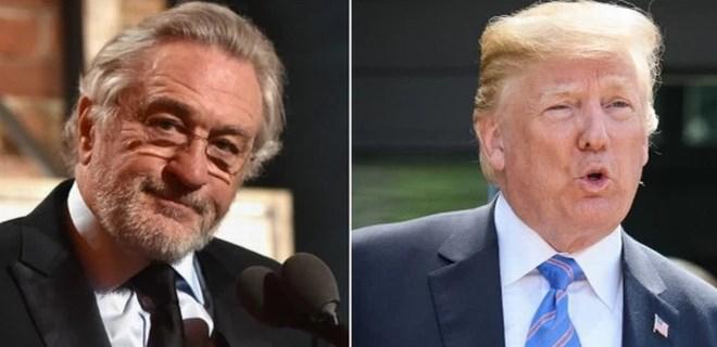 Trump'tan Robert de Niro'ya şok yanıt!