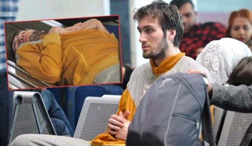 Atatürk Havalimanı'nda kalan Mehmet Şanlı'dan yeni haber