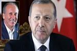 Erdoğan, İnce'nin televizyon davetine cevap verdi