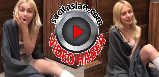 Aleyna Tilki'nin şoke eden videosu!