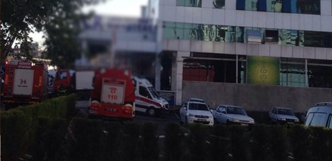 Gaziantep'te hastanede yangın!