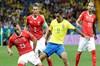 2018 FIFA Dünya Kupası'nda Brezilya ile İsviçre karşı karşıya geldi.