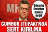MHP Genel Başkan Yardımcısı Sefer Aycan, Kahramanmaraş'ın Andırın ilçesinde, partisinin ilçe...